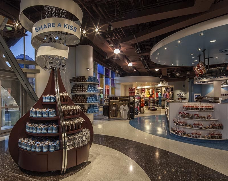 Hershey S Chocolate World Panolam Surface Systems