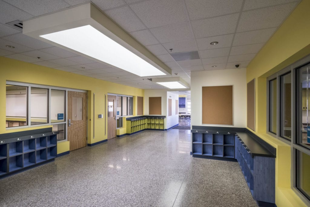 Onate Elementary School Panolam Surface Systems