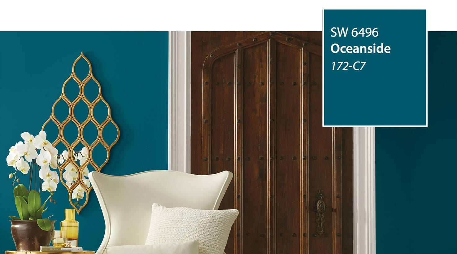 Sherwin williams 2018 color of the year oceanside for Sherwin williams color of the month october 2017