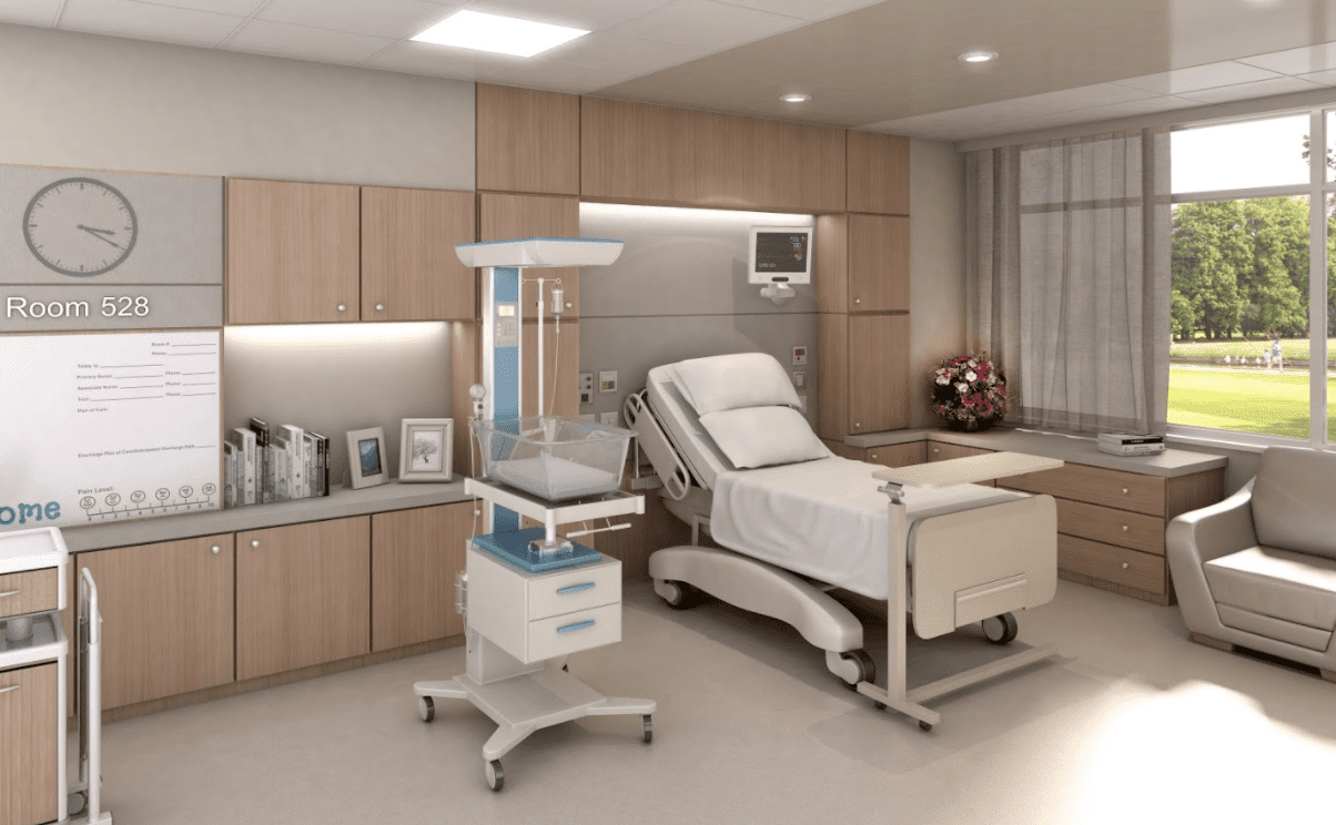 Hospital Room | Panolam Surface Systems