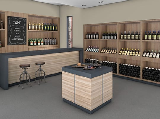Liquor Store Panolam Surface Systems