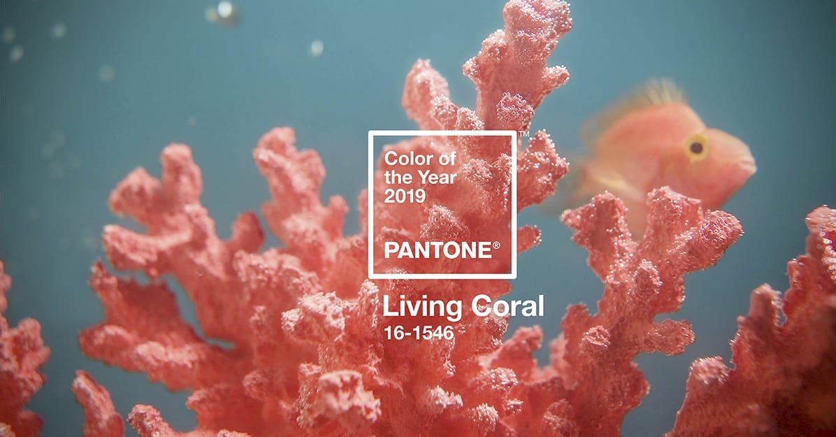pantone 2019 color of the year living coral panolam surface systems. Black Bedroom Furniture Sets. Home Design Ideas